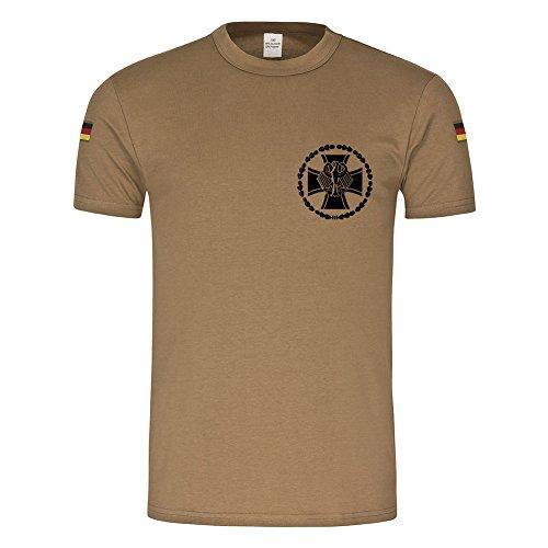 BW Tropen Ehrenmedaille Bundeswehr Medaille Orden Abzeichen Bund Auslandseinsatz Tropenshirt ISAF KFOR Veteran BW T-Shirt