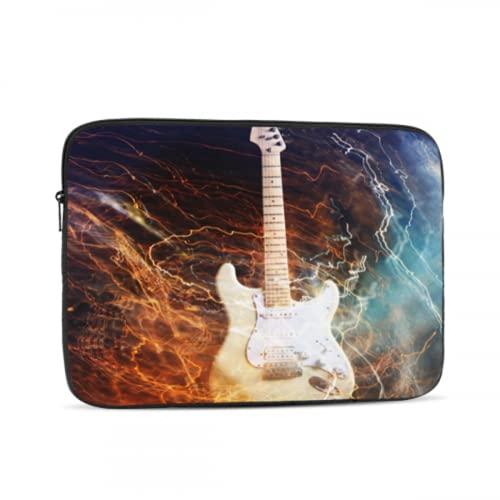 Funda Impermeable para computadora portátil Guitarra eléctrica rodeada de Lightnings1732 Funda para...