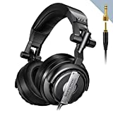 Over Ear Headphones, Sopownic Studio Headphones with 50mm Driver, Professional Monitor Recording &...