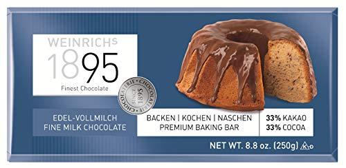 Weinrichs - Edel-Vollmilch Chocolate - 250g