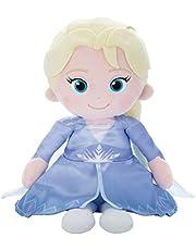 ディズニーキャラクター ぬいぐるみ うたって♪おしゃべり!! 魔法のペンダント アナと雪の女王2 エルサ 高さ32cm