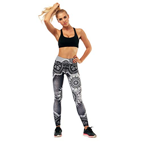 BYOGAZT @ Yoga Hosen Sport Frauen Yoga Leggings Fitness Sport Gym Übung Laufen Jogginghosen Großhandel Damen Highwaist Floral Hosen