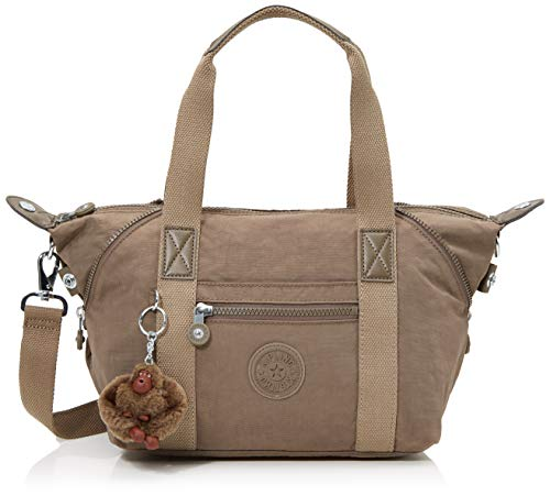 Kipling Art Mini, Borse a Secchiello Donna, Marrone (True Beige), 34x21x18.5 cm