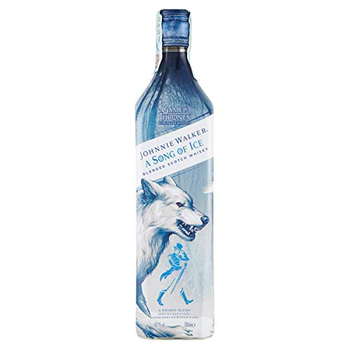 Johnnie Walker Song of Ice - Blended scotch whisky, edizione limitata Game of Thrones Casa Stark - 700 ml