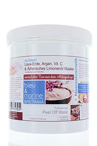 Veana Bleu & Marine Lave et Vitamine C Masque Peeling, Lot de 1 Paquet (1 X 400 G)