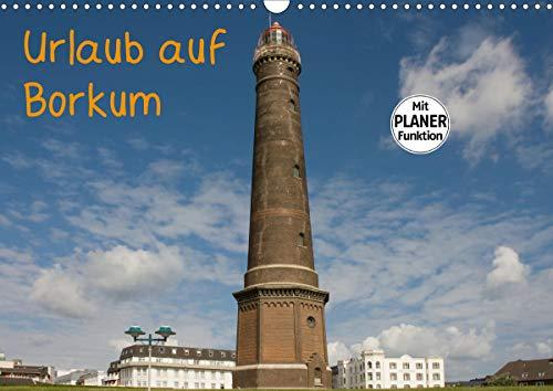 Urlaub auf Borkum (Wandkalender 2021 DIN A3 quer)
