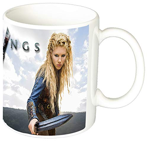 MasTazas Vikings Lagertha Katheryn Winnick Taza Ceramica