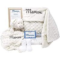 MabyBox True colours   Canastilla bebe   Regalo Babyshower   Cesta Bebé Recien nacido Personalizada (Beige)