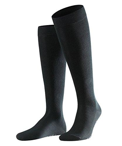 Falke 15645, Calze al ginocchio Uomo, Nero (Black 3000), 11-14 anni (Taglia Produttore: 47-50)
