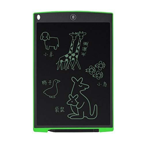 BXGZXYQ Kinder Smart Tablet Farbdisplay LCD LCD Malerei Graffiti WordPad 12 Zoll Geschenk Spielzeug Zeichnen Mit Licht Spielzeug Zeichnung Tablet (Farbe : Green)
