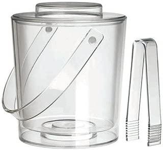 Felli® Ice Bucket w/Lid & Tongs