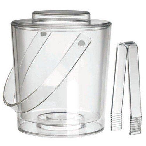 Felli Ice Bucket w/Lid & Tongs