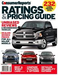 Consumer Reports Ratings & Pricing Guide Unbiased Reviews and Recommended Vehicles