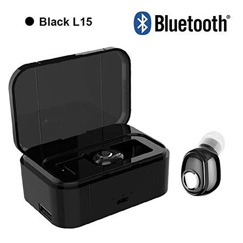 Mini Sport Draadloze Bluetooth Koptelefoon In-Ear Stereo Muziek Sport Headsets Met Opladen Box