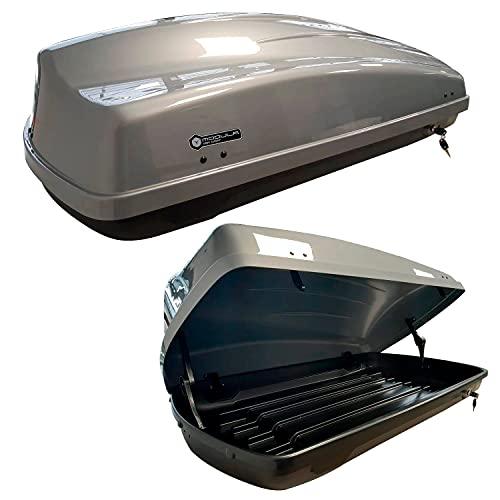 Altro Modula Coffre de toit, coffre de rangement, gris...