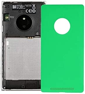Battery case Jrc Battery Back Cover for Nokia Lumia 830(Black) Mobile phone accessories (Color : Green)