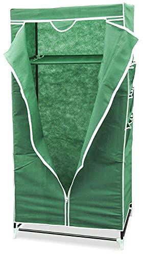 giordano shop Mobile da Campeggio 75x50x160 cm in TNT con Tasche Verde