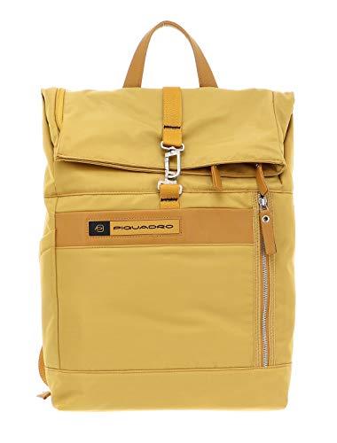 PIQUADRO Laptop Backpack PQ-Bios Giallo Ocra