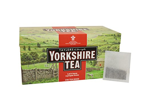 Taylors of Harrogate Yorkshire, Tè Nero 240 bustine di te - 1 unitá