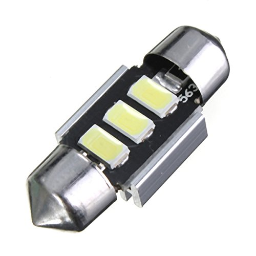 Masunn 31 mm slinger 5630 chip LED-licht lamp licht kenteken wit