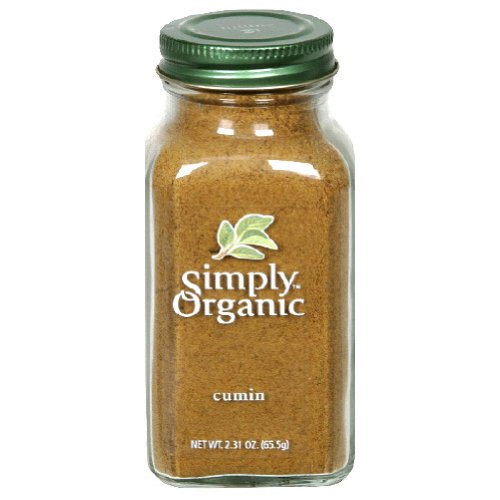 Simply Organic Cumin 2.31-Ounce Weekly update of 6 Pack Today's only