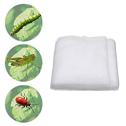 Yester - Red de protección contra insectos, red de protacción antiinsectos de malla fina, malla de verduras para jardín, invernadero, plantas, frutas, flores, cultivos