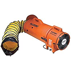 Premium Pick for Best Manhole Blower: Allegro Industries 8-Inch Plastic Compaxial Blower