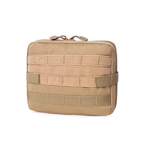 Bolso del paquete de la cintura Las bolsas tácticos - Caza EDC táctico militar Molle de primeros auxilios bolsa de deporte al aire libre de nylon multifunción mochila Ejército de accesorios bolsa de h