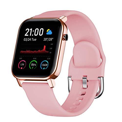 WFGZQ Reloj Inteligente, Rastreador De Actividad, Rastreador De Actividad Pulsera Inteligente Contador De Pasos De Calorías Reloj Salud Deportes,Monitor De Ritmo Cardíaco Y Sueño Reloj Inteligente