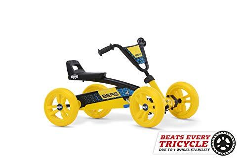 Berg Pedal Gokart Buzzy BSX | Kinderfahrzeug, Tretauto, Sicherheid und Stabilität, Kinderspielzeug geeignet für Kinder im Alter von 2-5 Jahren