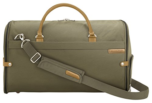 Briggs & Riley Suiter Duffle Travel Garment Bag, 56 cm, 42 L, Olive