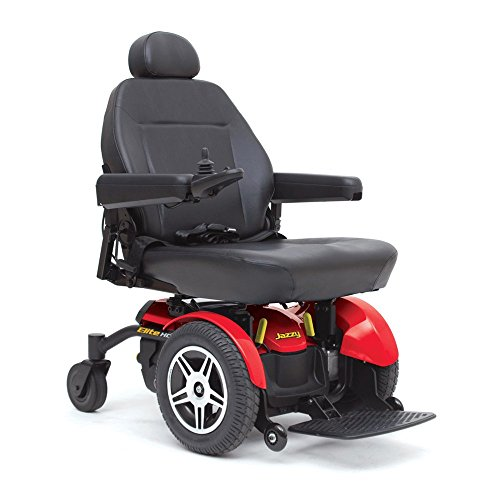 Pride Mobility - Jazzy Elite HD - Heavy Duty Power Chair - Jazzy Red