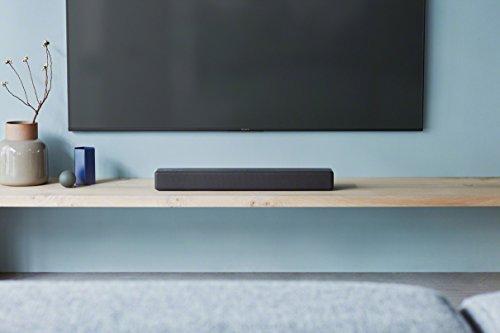 Sony HT-SF200 2.1-Kanal kompakte TV Soundbar mit Subwoofer (Home Entertainment System, HDMI, Bluetooth, USB, Surround Sound) schwarz & Amazon Basics Toslink Optisches Digital-Audiokabel, 1m