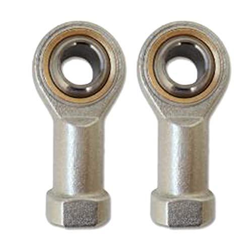B Blesiya 2 Piezas M10 Fish Eye Rod Rodamiento Rosca Hembra Herramientas De Rodamiento De Rótula