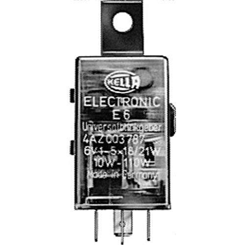 HELLA 4AZ 003 787-051 Blinkgeber - 6V - 4-polig - Anbau/gesteckt - elektronisch - mit Halter