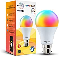Wipro 12.5-Watt B22 WiFi Smart LED Bulb with Music Sync