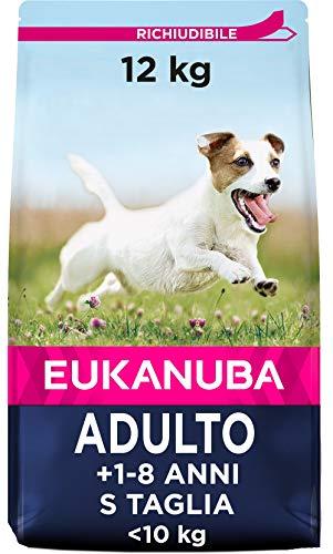 Eukanuba Active Adult - Crocchette al Pollo per per Cani Adulti di Taglia Piccola - 12 kg