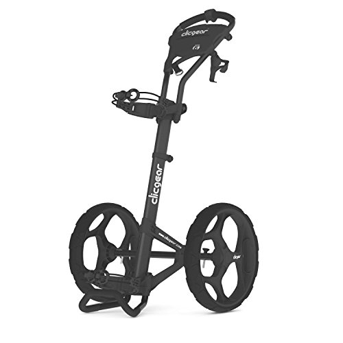 Clicgear 6.0 2-Wheel Golf Trolley, Charcoal,