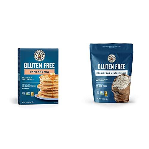 King Arthur Flour KING ARTHUR FLOUR Gluten Free Pancake Mix 15 Ounce Pack of 6 amp Measure for Measure Flour Gluten Free 3 Pound Pack of 1