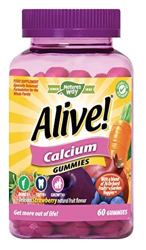 Alive! Calcium Gummies with Vitamin D