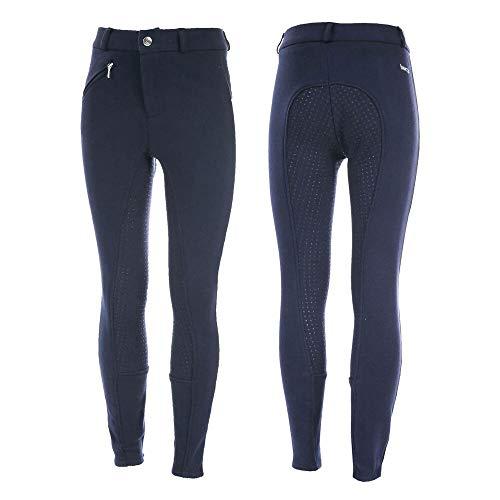 HORZE Pantalones para Montar con Asiento Completo de Silicona para Niños Active Grip