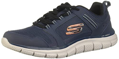 Skechers - Scarpe da uomo Track Knockhill - blu - 10