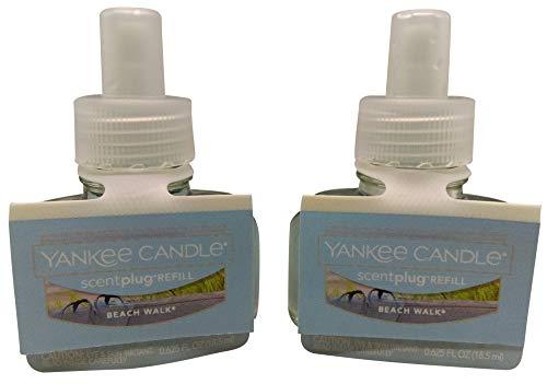 YANKEE CANDLE Beach Walk Vela® Eléctrico Hogar Fragrancer Twin Pack Recambio
