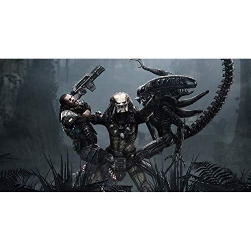Alien Vs Predator: Figuras Jigsaw Puzzle Puzzles for Adultos y Adolescentes 300/500/1000/1500 Piezas (Personalizable) (Size : 1500Pieces)
