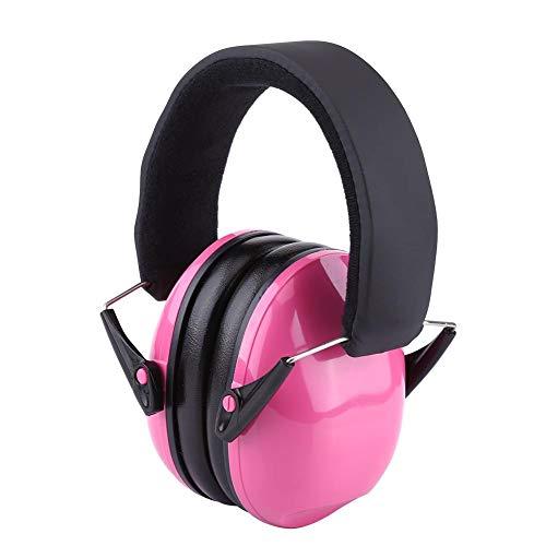 防音イヤーマフ イヤープロテクター ノイズリダクション 聴覚保護 睡眠イヤーマフ 遮音値 25dB 自閉症 聴覚過敏 子供用(ピンク)