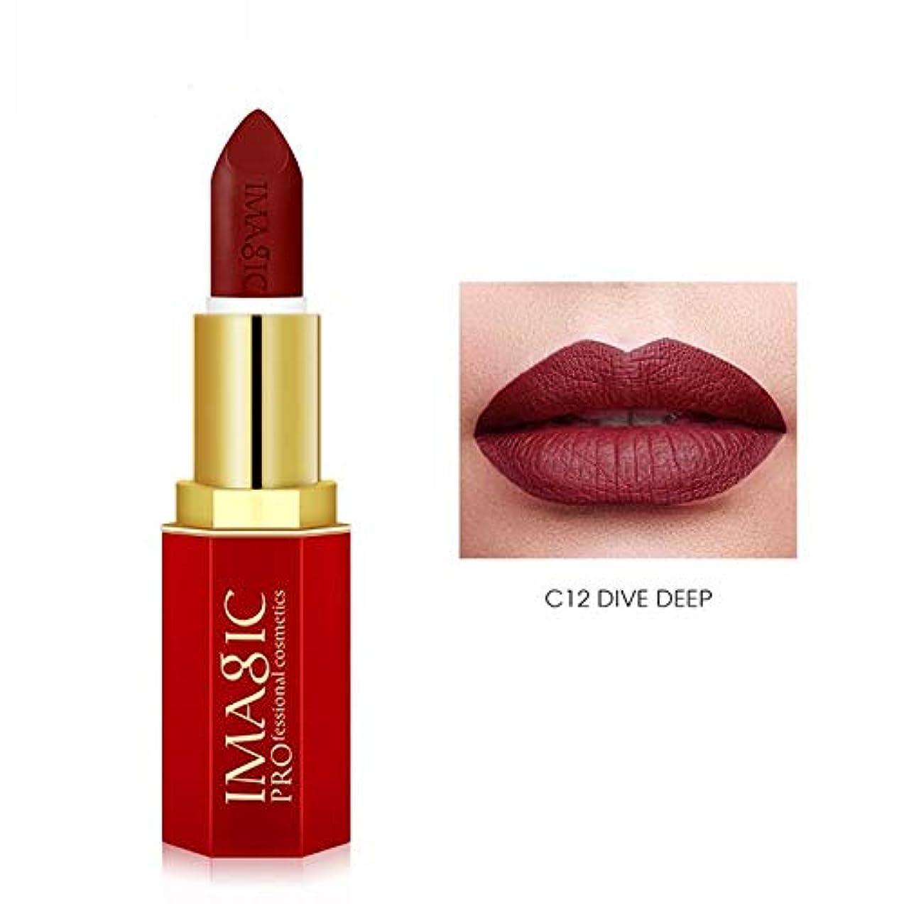 発動機クスコ連想注意イマジック魅力的な口紅モイスチャライザー唇滑らかなリップスティック長持ちリップリップスティック化粧品美容メイク12色