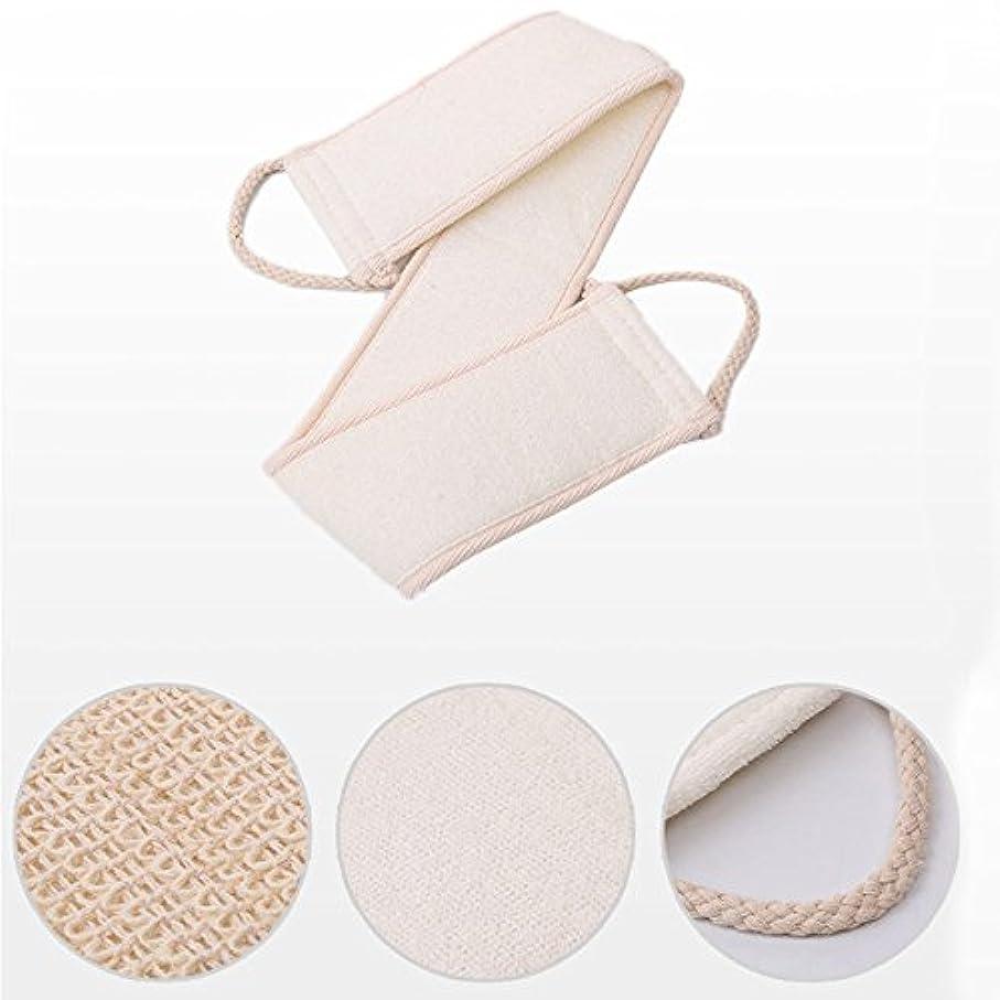 クッション通常疫病1 PC Natural Loofah Bath Brush Exfoliating Back Strap Body Scrubber Brush Sponge Massage Spa Scrubber Sponge Skin body wash Free shipping