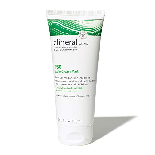 AHAVA CLINERAL PSO Scalp Cream Mask, 200 ml