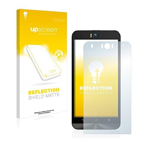 upscreen Entspiegelungs-Schutzfolie kompatibel mit Asus ZenFone Selfie ZD551KL – Anti-Reflex Bildschirmschutz-Folie Matt
