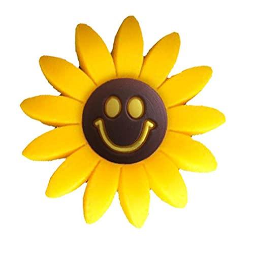 Coche Perfume Clip Ornament Sunflower Aire Aceite Outlet Outlet Vents Fragancia Difusor Accesorios Auto Decoración para Regalos